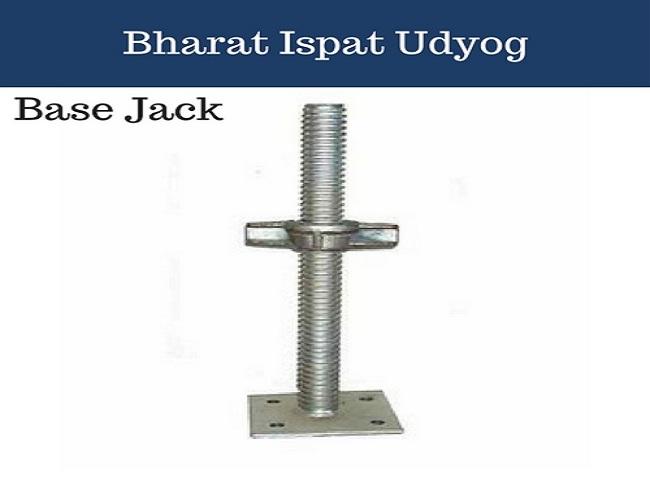 Base Jack Scaffolding Manufacturer in Delhi NCR